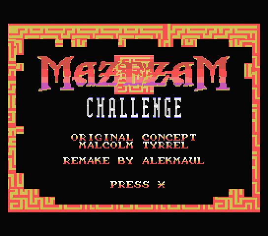 MazezaM pour Coleco Mazezam_201508_1