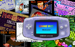 Mes productions GBA